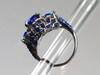Tall rhinestone ring