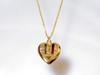Heart locket gold filled