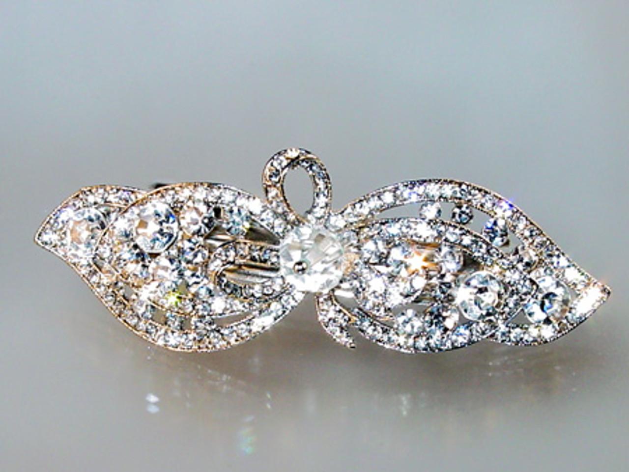 Crystal hair jewelry