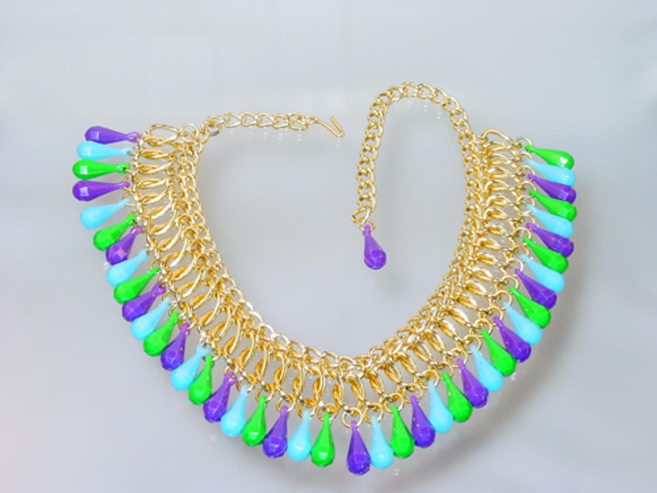 1960 Bib Necklace