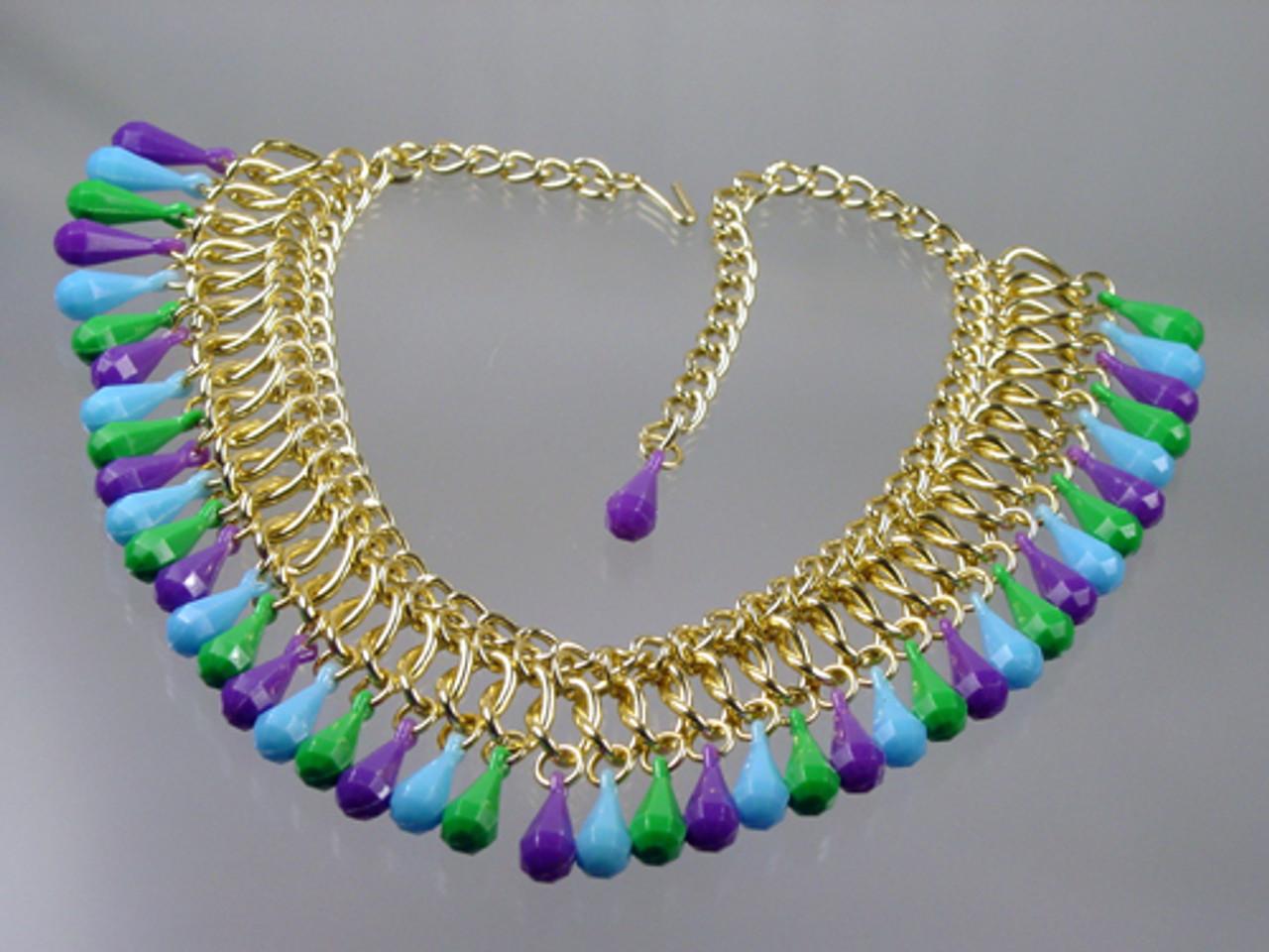 Bib Briolette Necklace