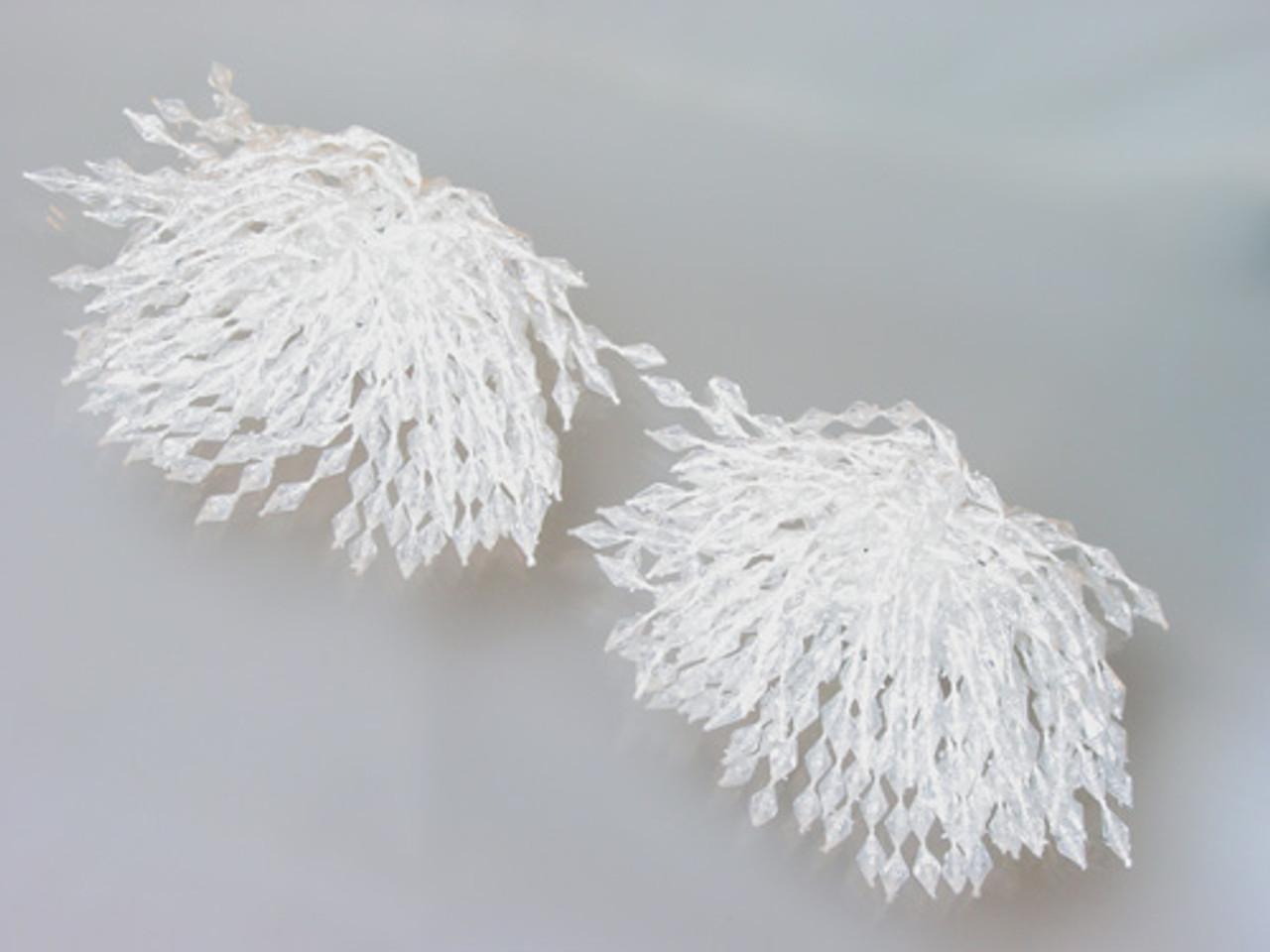 Lucite dangle shoe clips