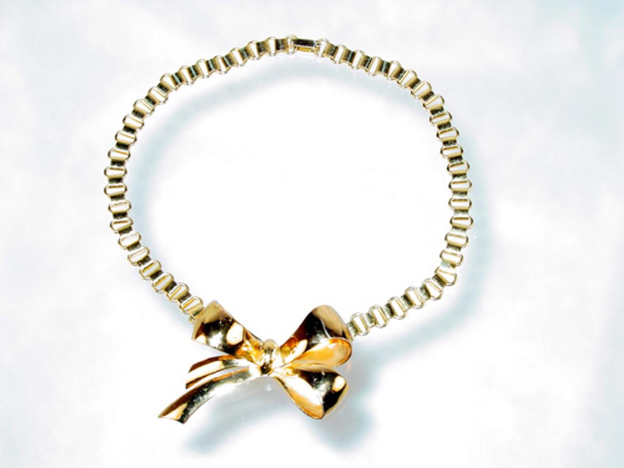 Coro Victorian Revival Bookchain Necklace