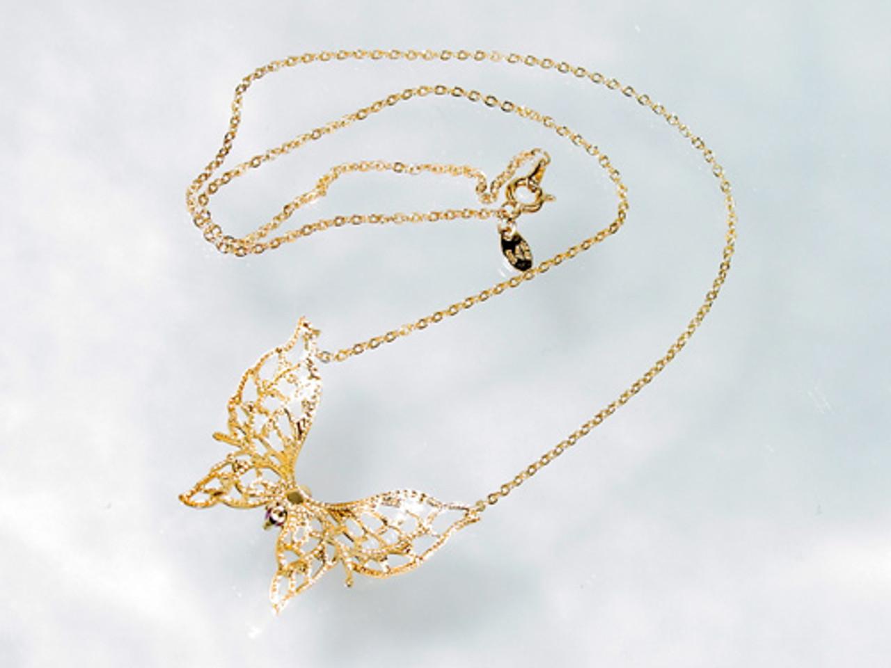 back of Lind necklace