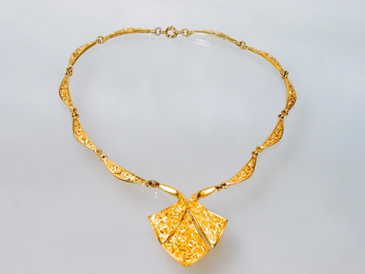 Trifari Etruscan Revival Necklace