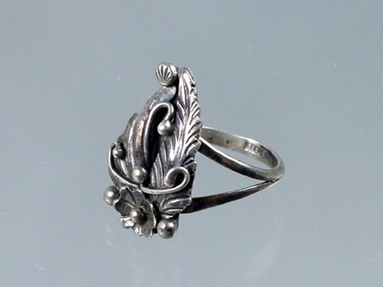 Retro Sterling Silver Ring