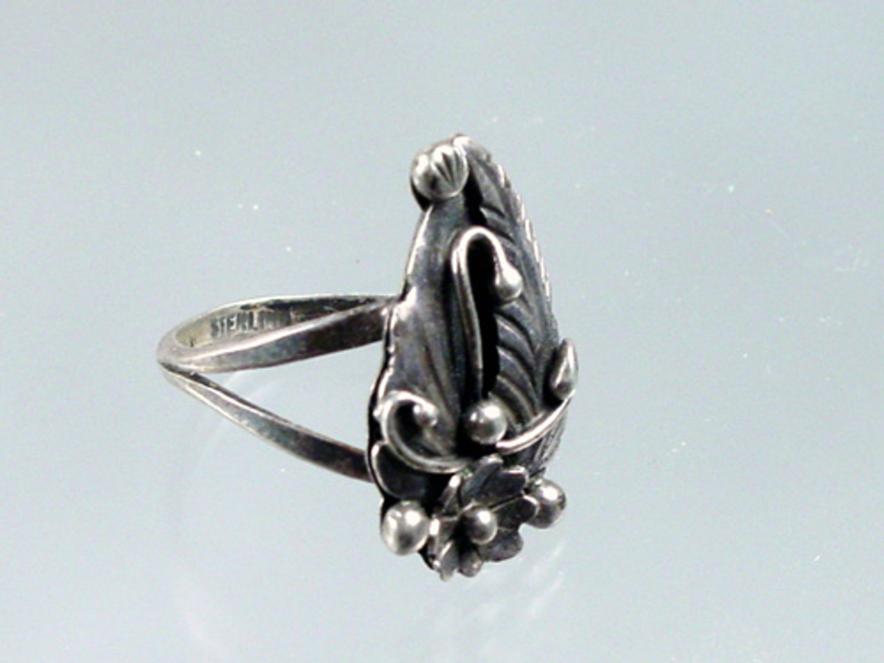Silver Woodland Ring