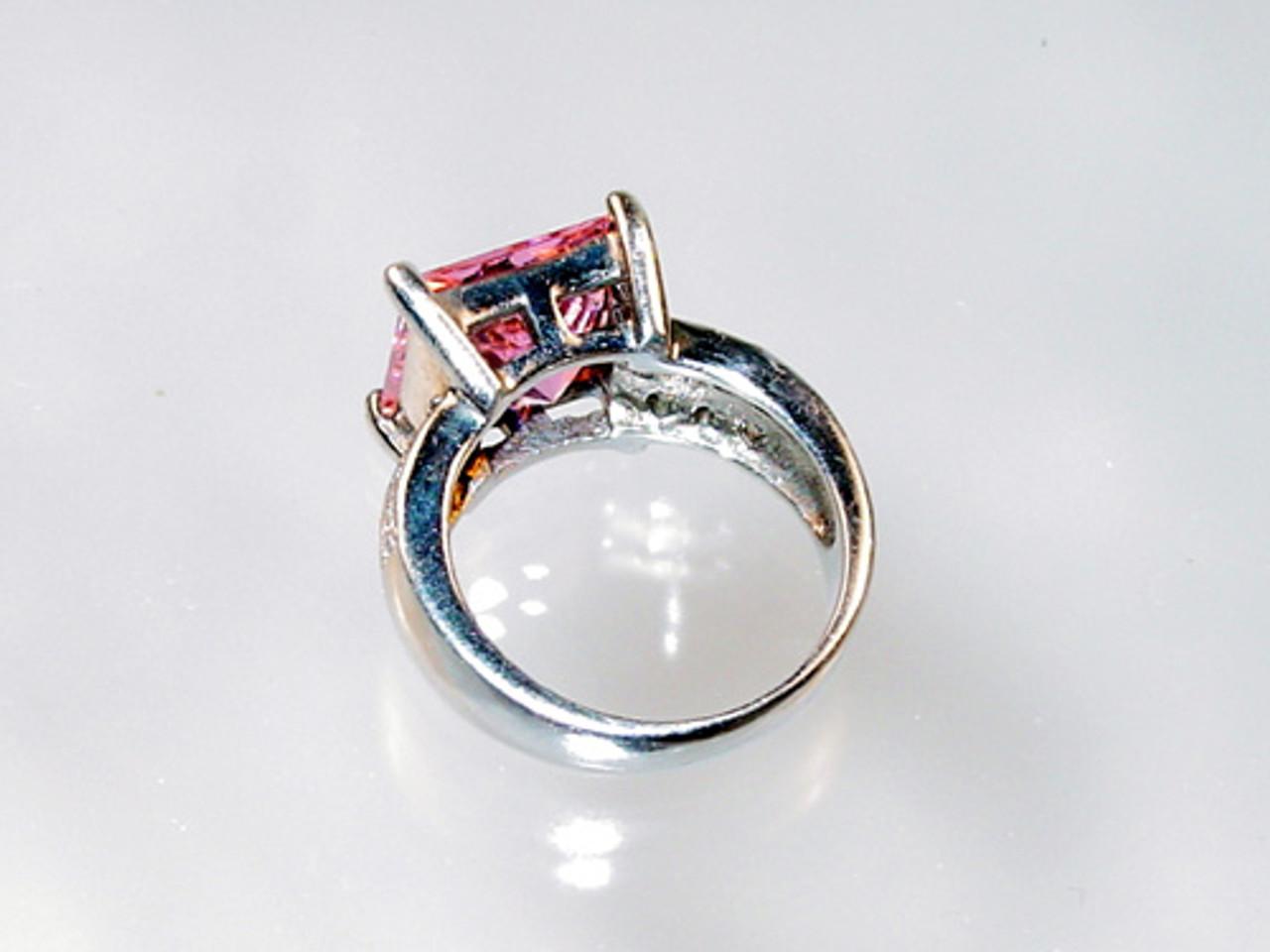 back of tourmaline ring