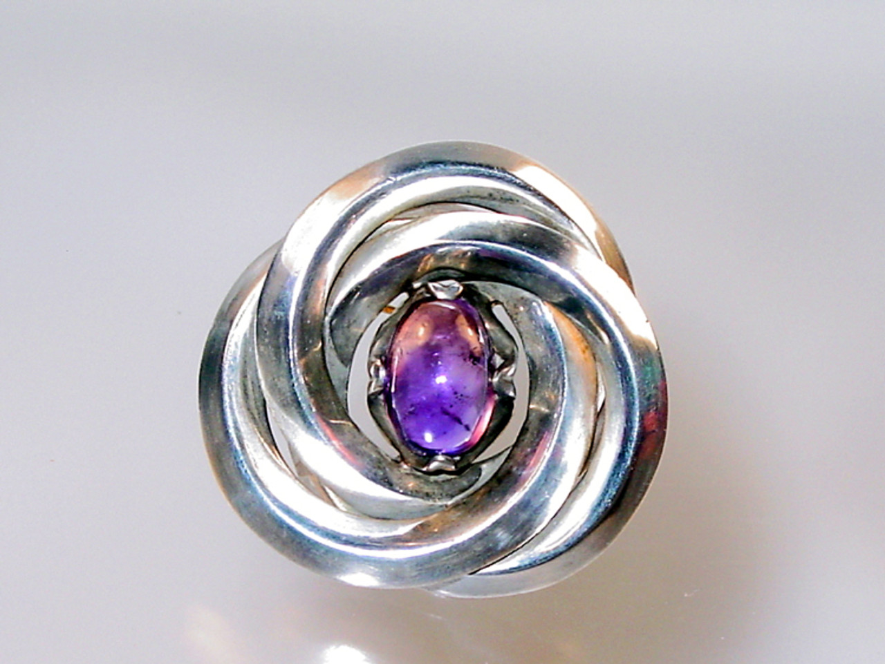 Antonio Pineda Silver and Amethyst Jewelry