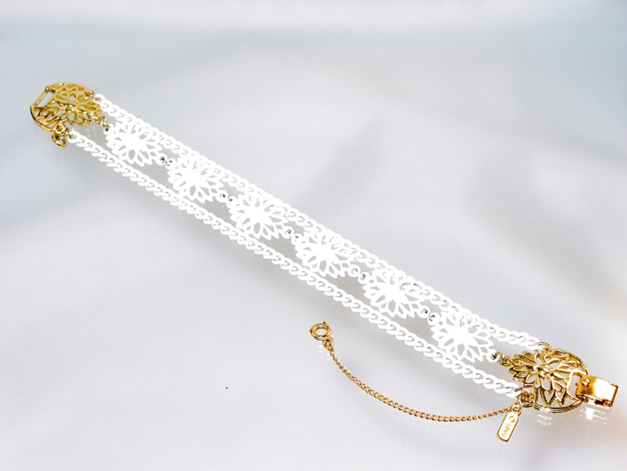 1960 Monet Enamel Bracelet