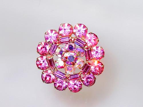 Weiss pink rhinestones
