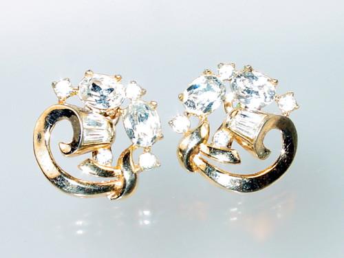 Crown Trifari 1952 earrings