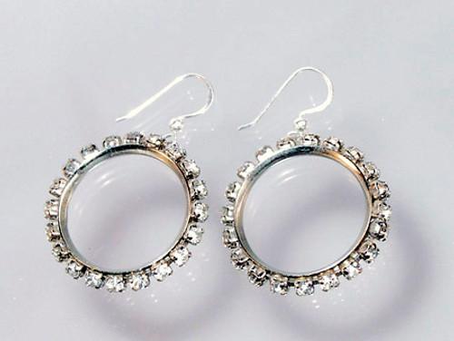 1960 hoop earrings