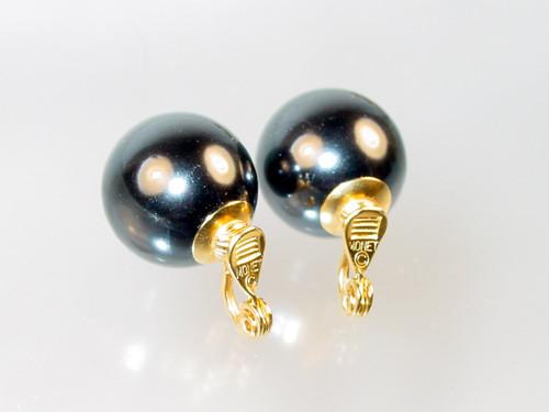 signed Monet on Gumball earrings