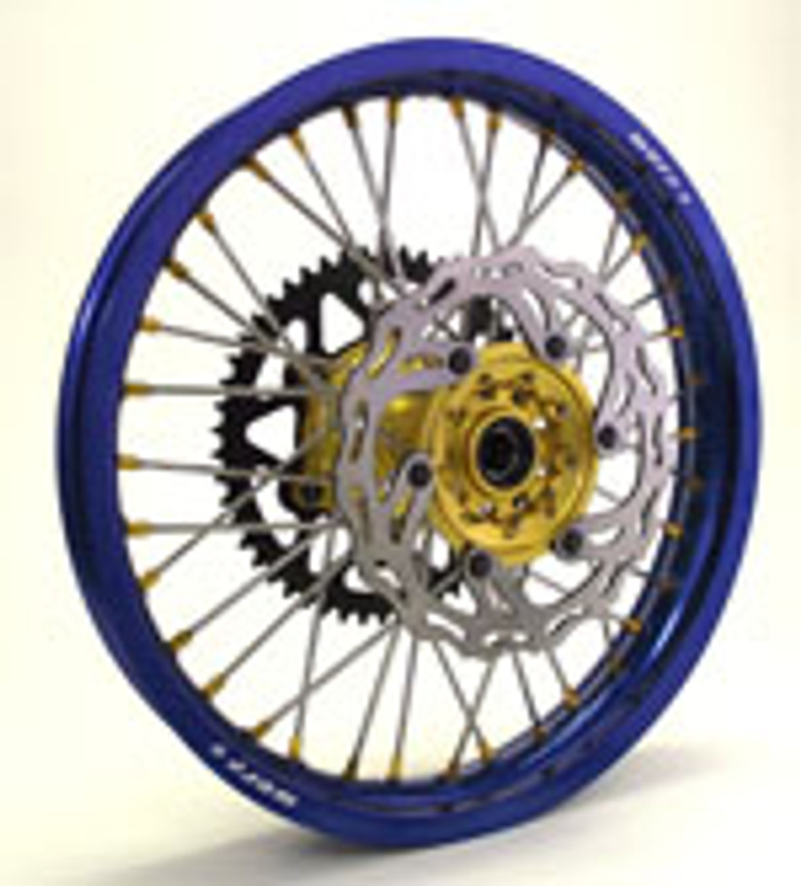 Warp 9 DR650 Rear Wheel
