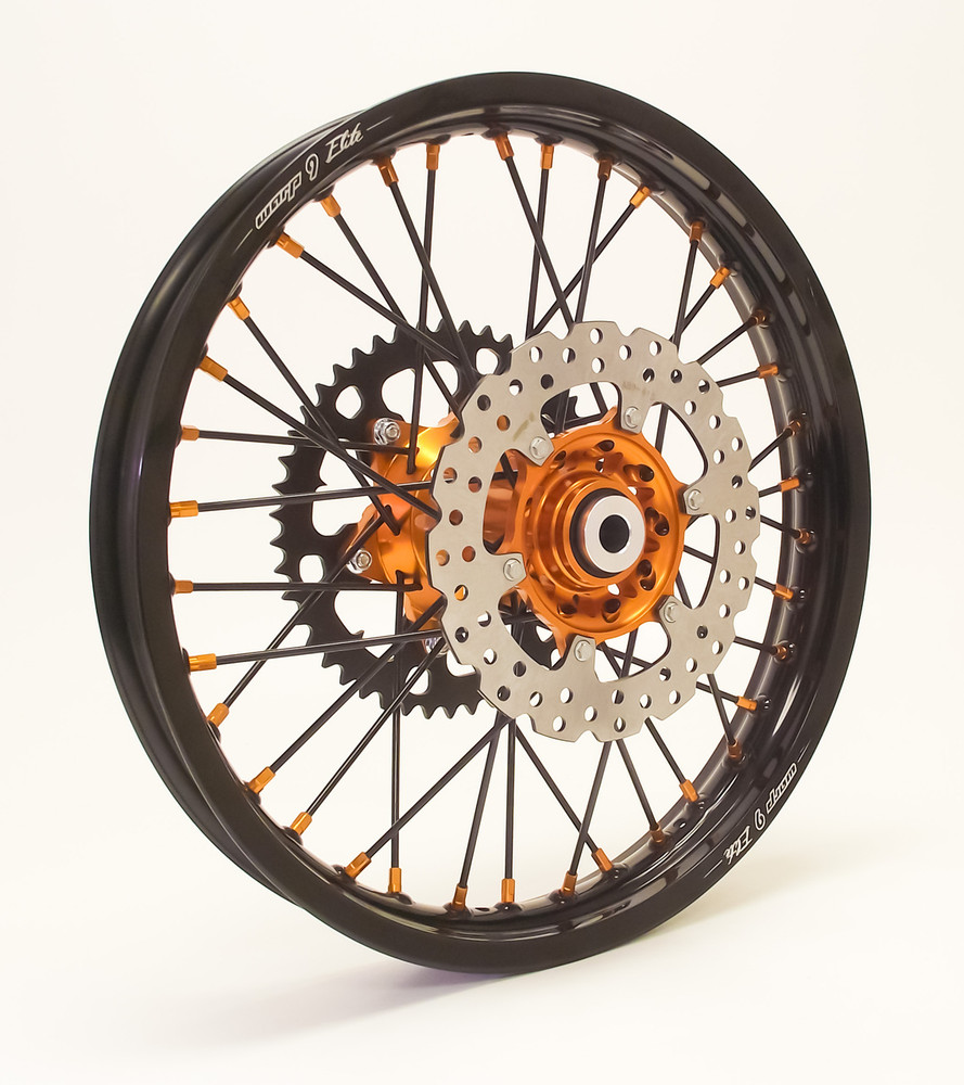 "Warp 9 Wheels with Intermediate Terrain Tires (21"" Front / 18"" Rear)"