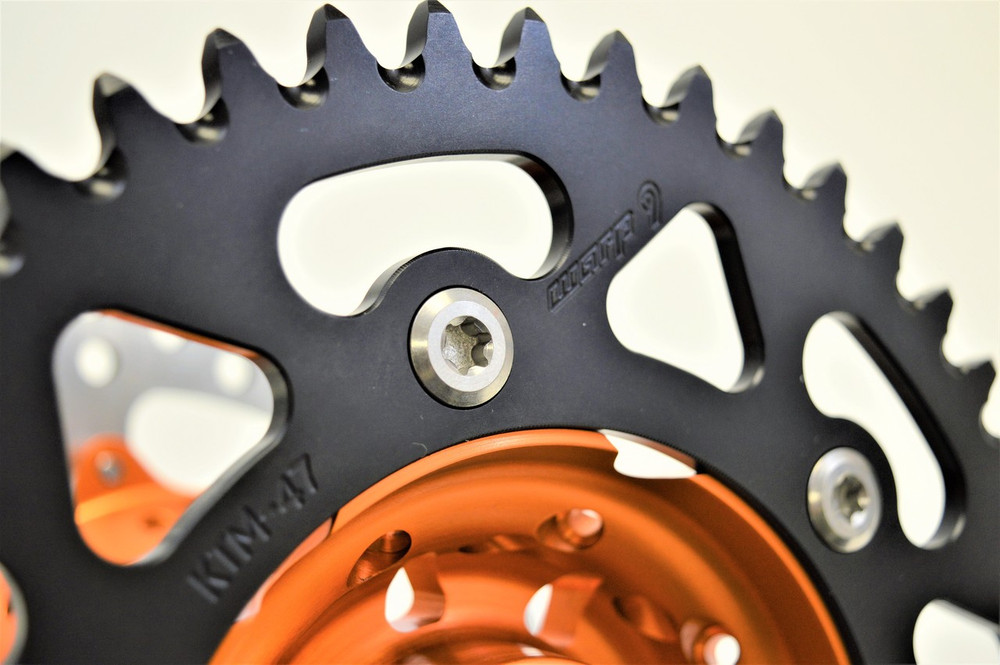 Warp 9 Titanium Sprocket Bolt Kit