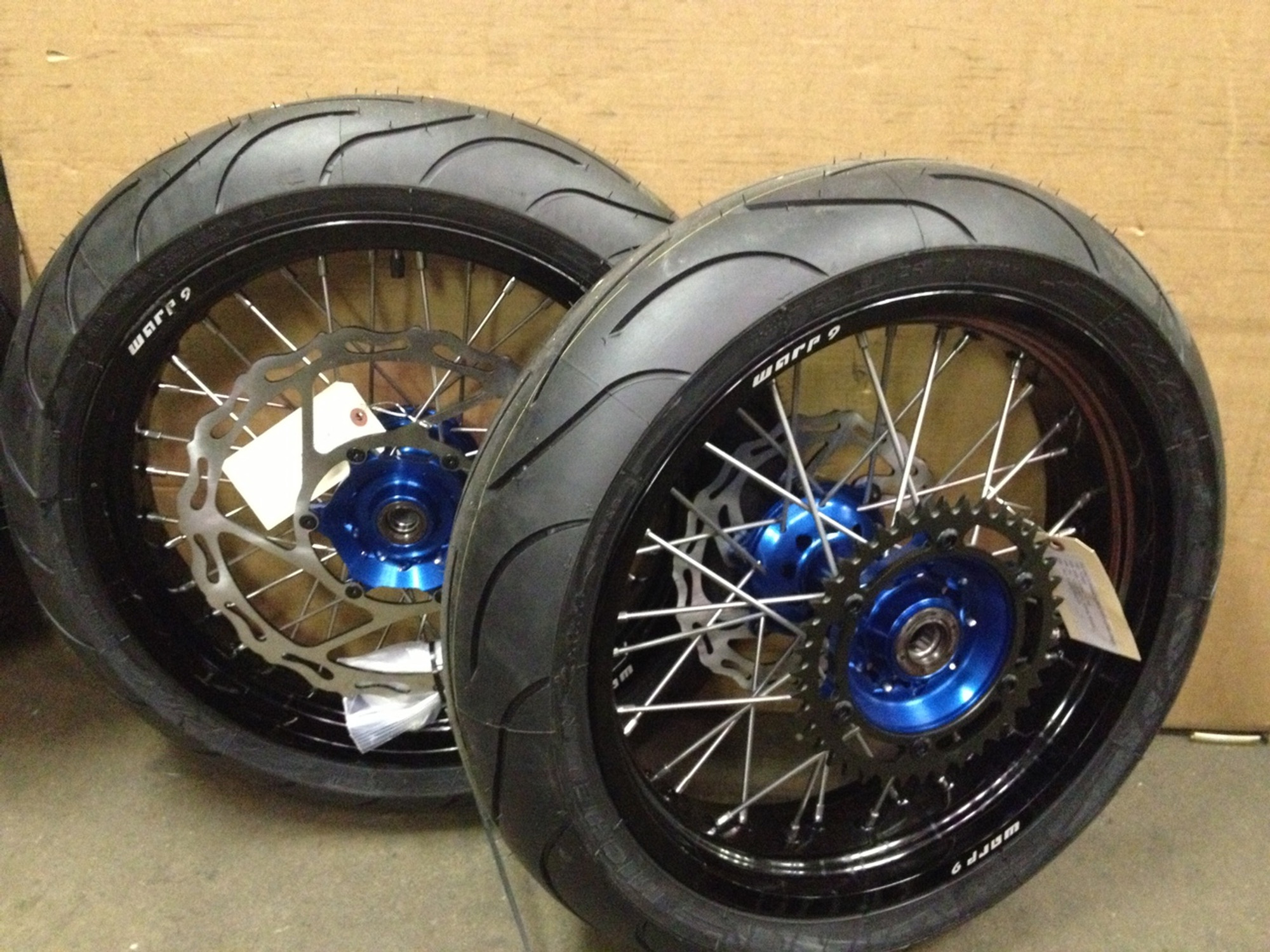 Rims And Tires Canada >> Warp 9 Supermoto Wheels With Tires