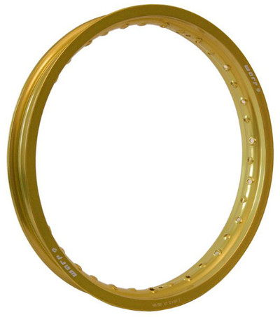 Warp 9 Rear Rim Gold