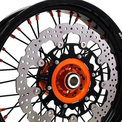 Warp 9 KTM 690 Enduro Front Supermoto Wheel