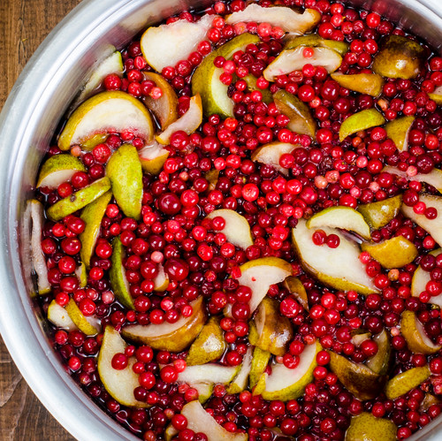 Cranberry- Pear  White Balsamic Vinegar