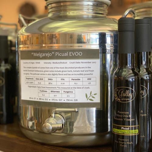 Melgarejo Picual Extra Virgin Olive Oil