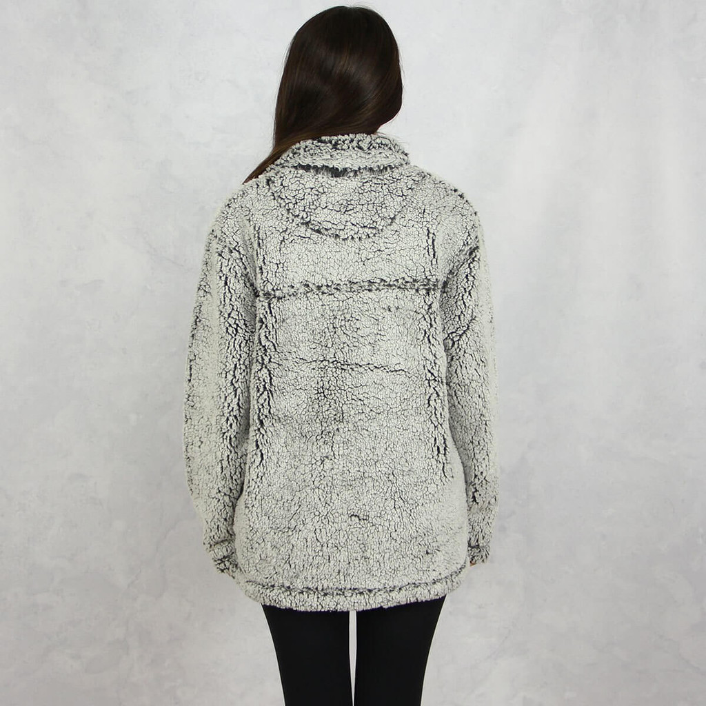 Alpha Phi Sherpa in Gray Back