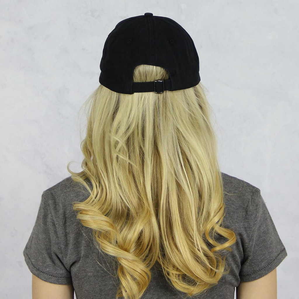 Kappa Kappa Gamma Dad Baseball Hat in Black Back