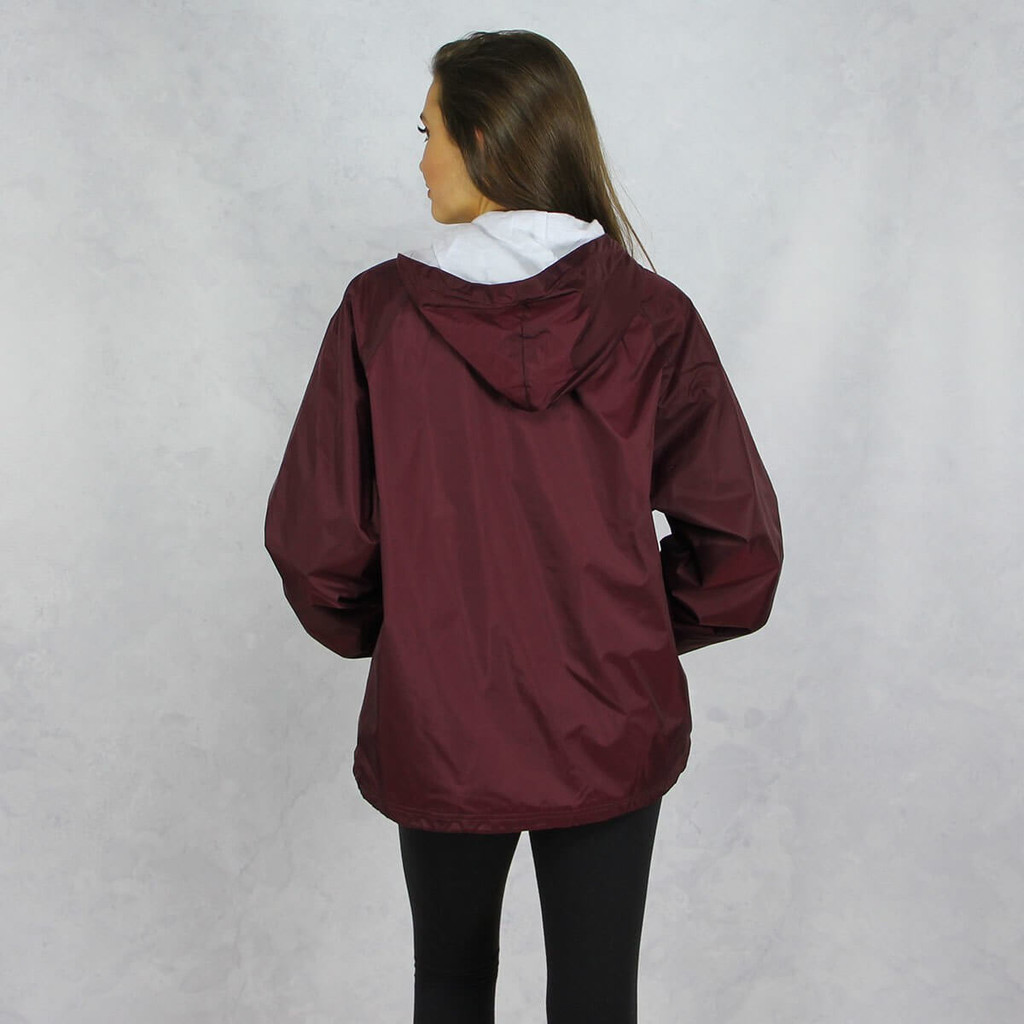 Delta Gamma Jacket by Charles River Back