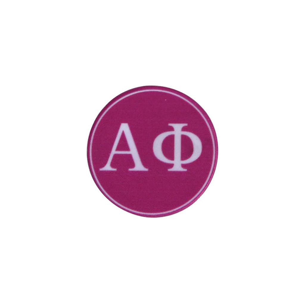 Alpha Phi Phone Grip in Hot Pink Top