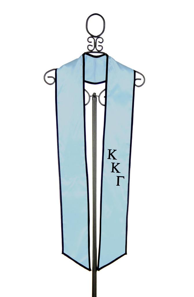 Kappa Kappa Gamma Graduation Stole