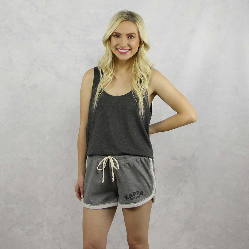 Kappa Kappa Gamma Shorts in Grey