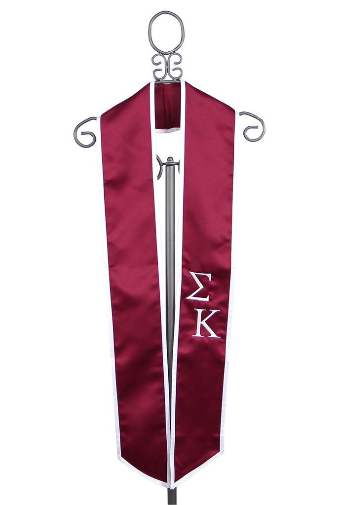 Sigma Kappa Graduation Stole