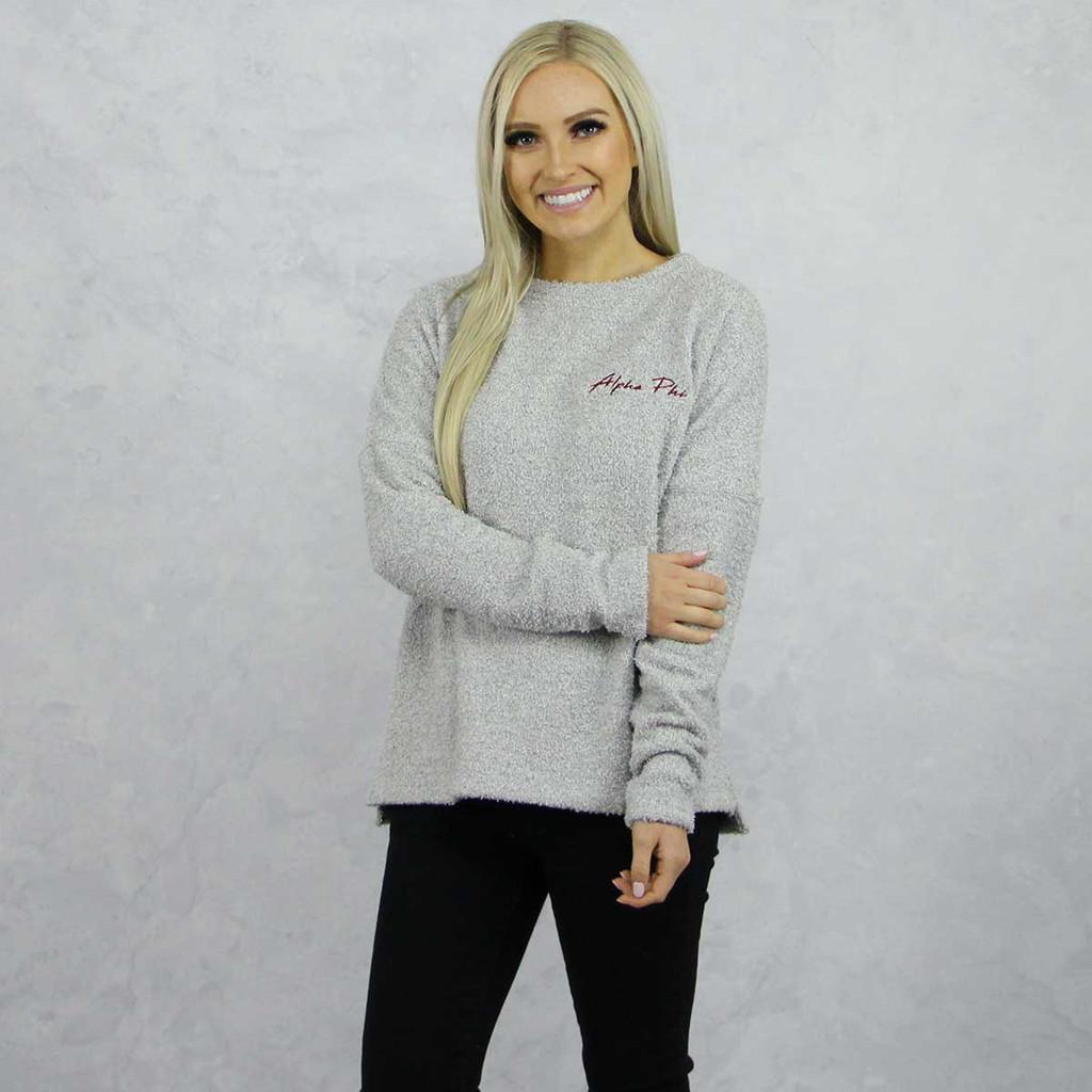 Alpha Phi Fleece Sweatshirt by Sorority Specialties | Alpha Phi Store