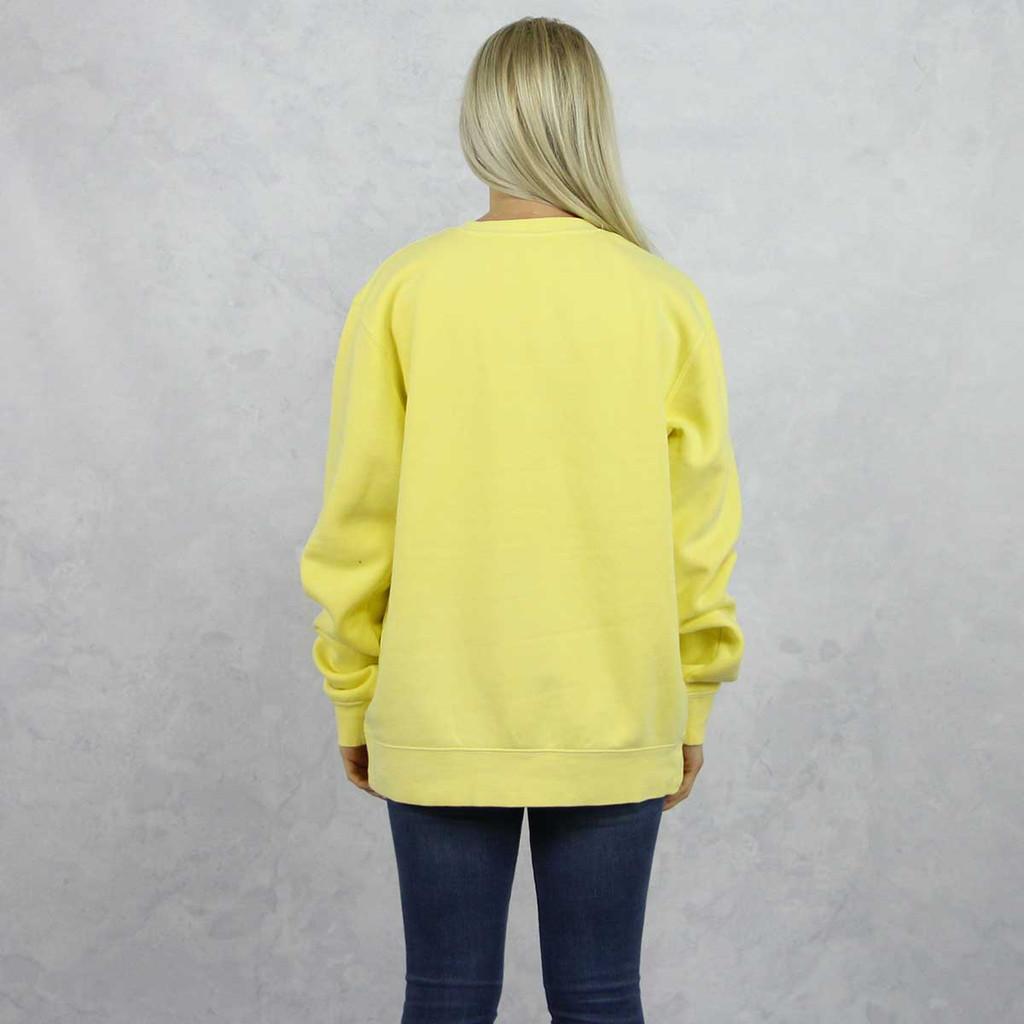 Kappa Alpha Theta Embroidered Sweatshirt in Yellow now on Theta Store. back.