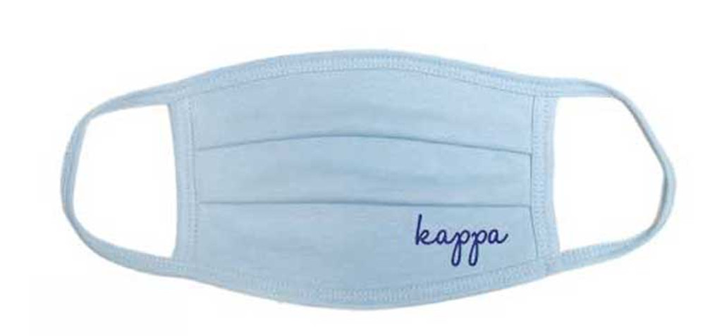 Kappa Kappa Gamma Custom Face Mask