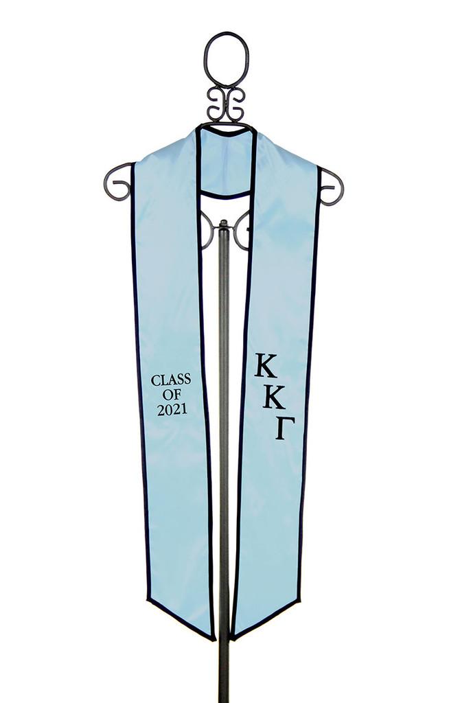 Kappa Kappa Gamma  Graduation Stole  - Class of 2021