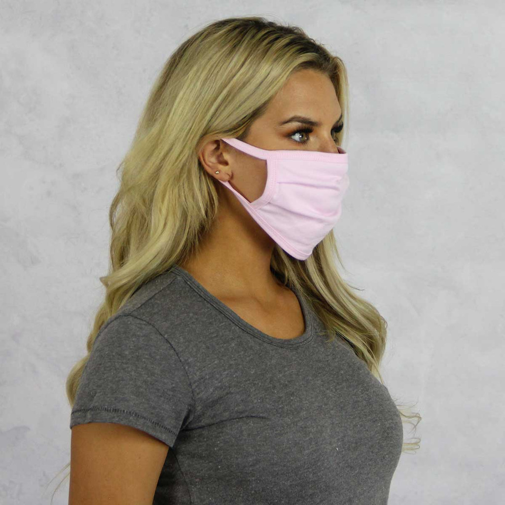 Delta Gamma Face Mask Blank Side