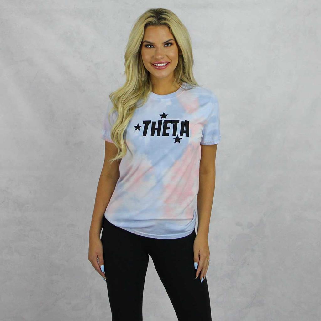 Kappa Alpha Theta Short Sleeve Tie Dye T-Shirt