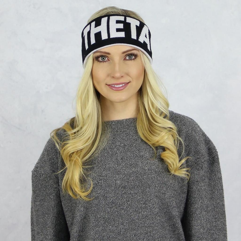 Kappa Alpha Theta Reversible Headband and Ear Warmer