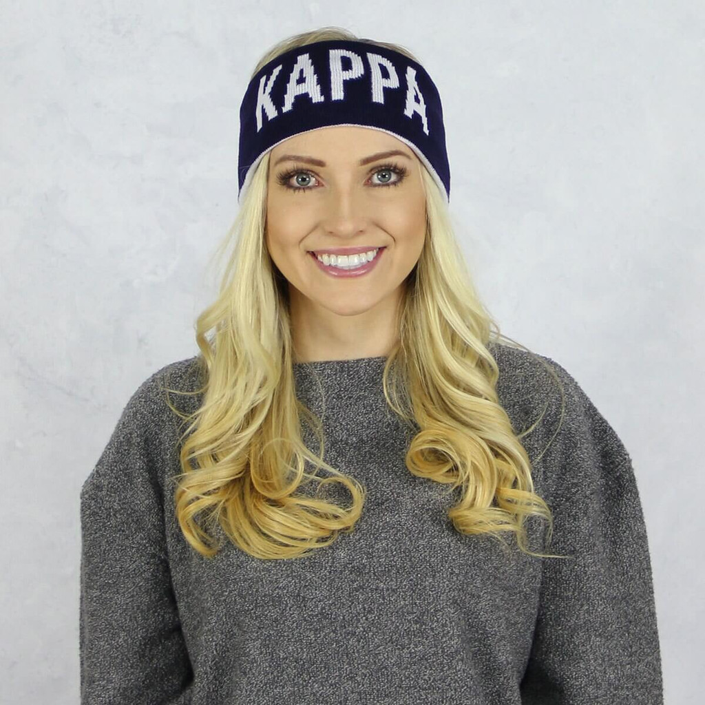 Kappa Kappa Gamma Reversible Headband and Ear Warmer