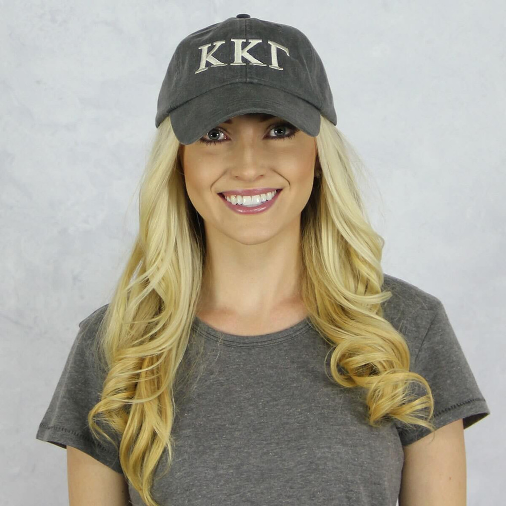 Kappa Kappa Gamma Baseball Hat in Gray