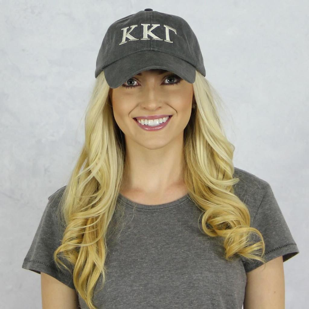 Kappa Kappa Gamma Baseball Hat in Gray