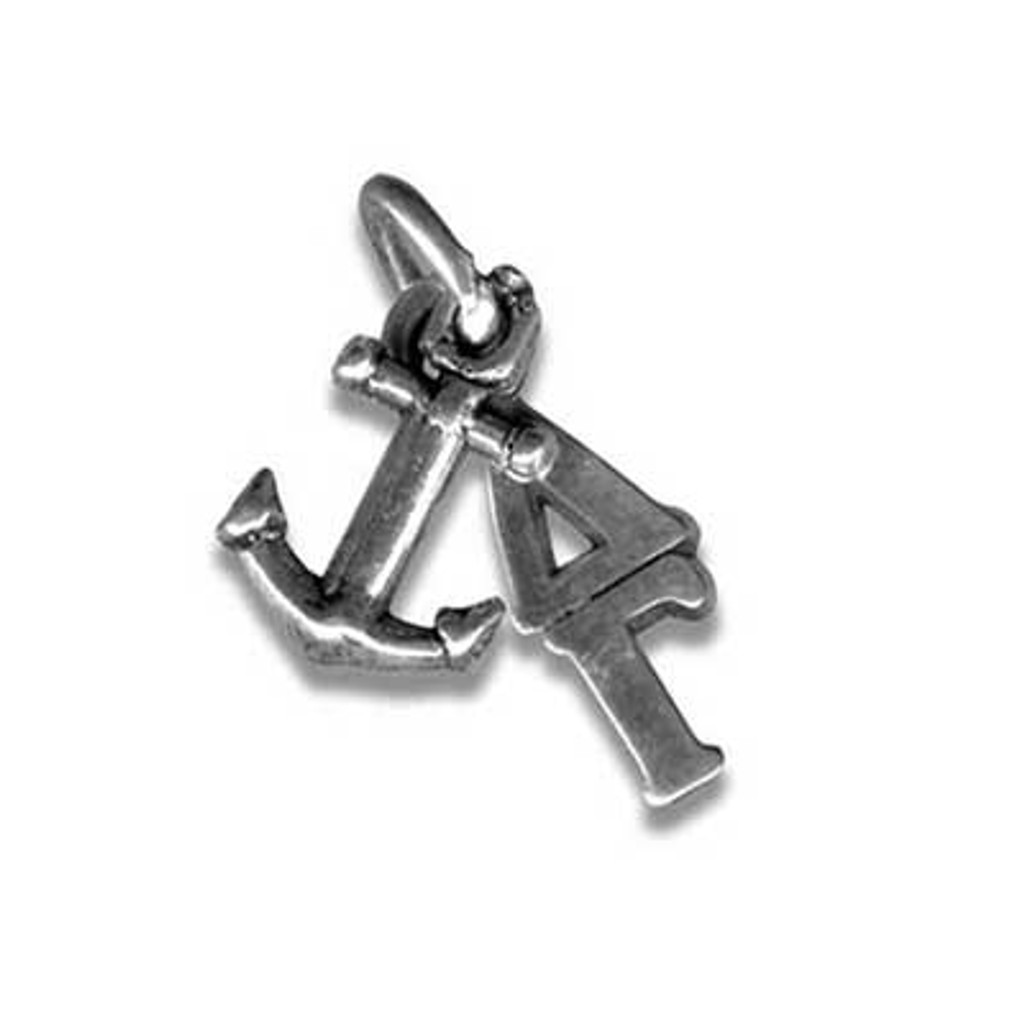Delta Gamma Lavalier With Greek letters and Anchor