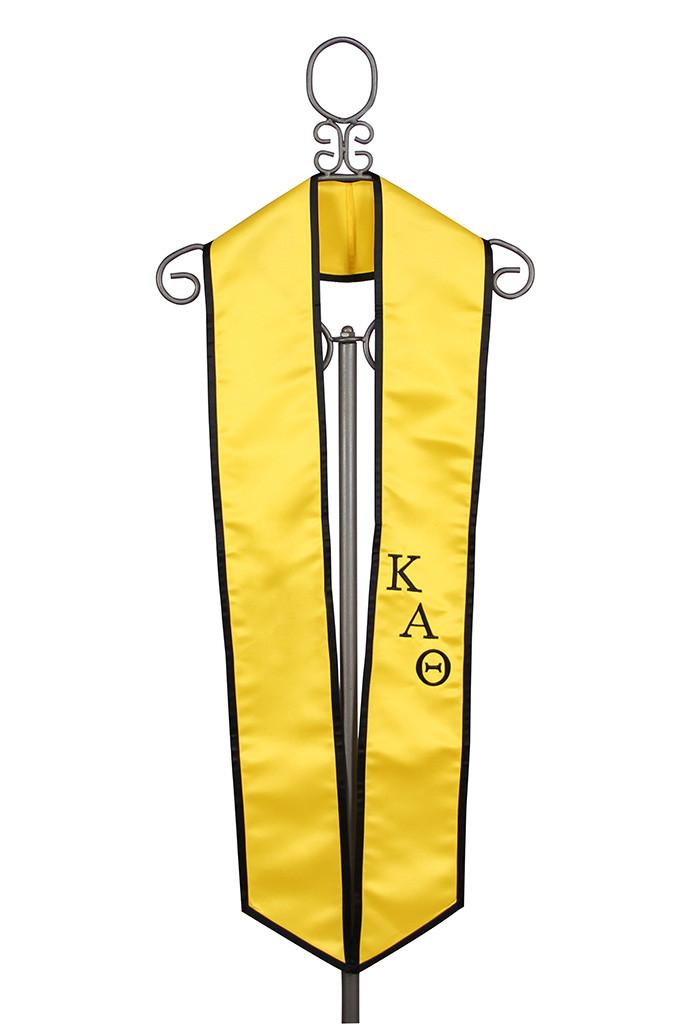 Kappa Alpha Theta Satin Graduation Stole