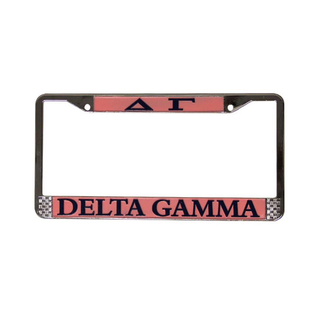 Delta Gamma License Plate Frame