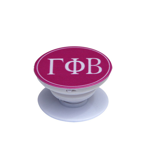 Gamma Phi Beta Phone Grip in Hot Pink