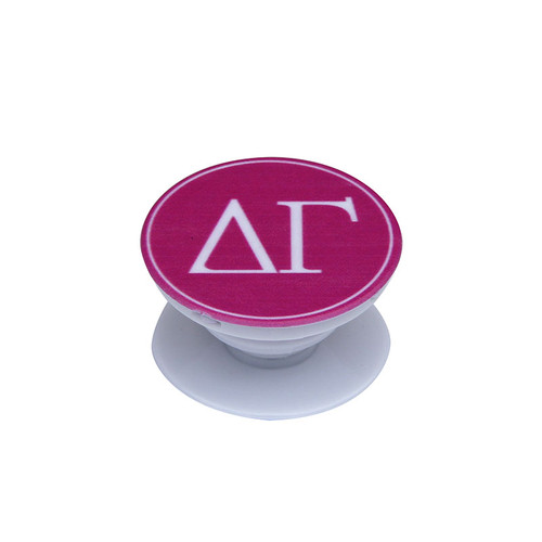 Delta Gamma Phone Grip in Hot Pink