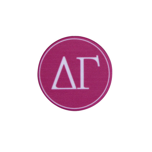 Delta Gamma Phone Grip in Hot Pink Top