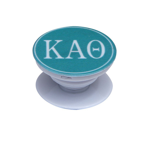 Kappa Alpha Theta Phone Grip in Teal